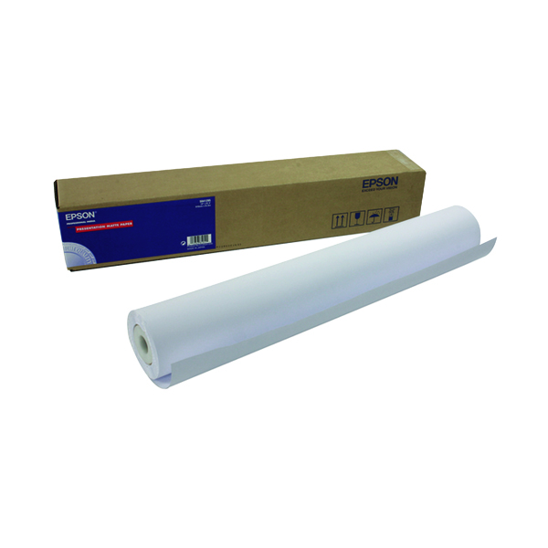 Epson Presentation Matte Paper Roll 24 Inches x25m 172gsm C13S041295