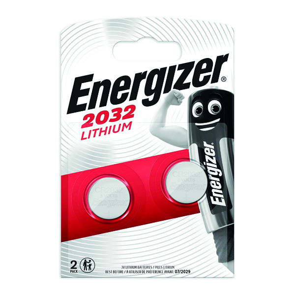 Button Cell Energizer Special Lithium Battery 2032/CR2032 (2 Pack) 624835