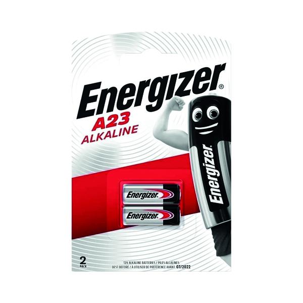 Button Cell Energizer Alkaline Battery A23/E23A (2 Pack) 629564