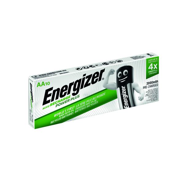 AA Energizer Rechargable AA Batteries 2000mAh (10 Pack) 634354