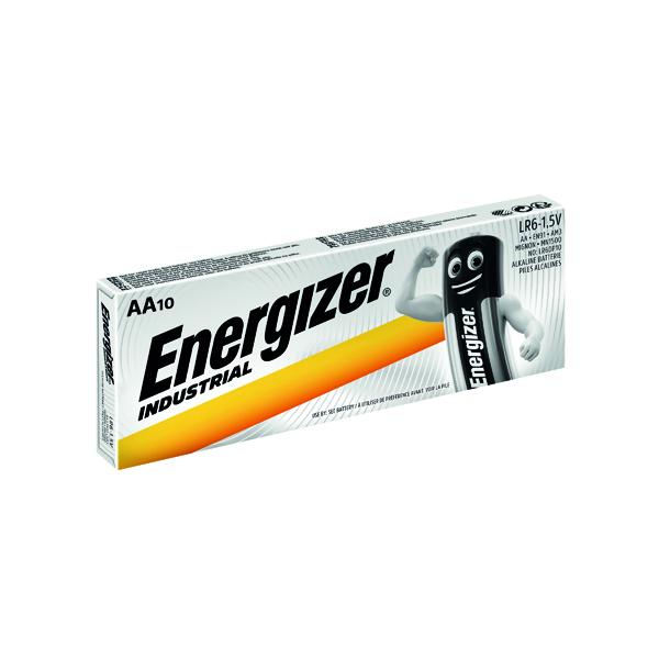 AA Energizer Industrial AA Batteries (10 Pack) 636105