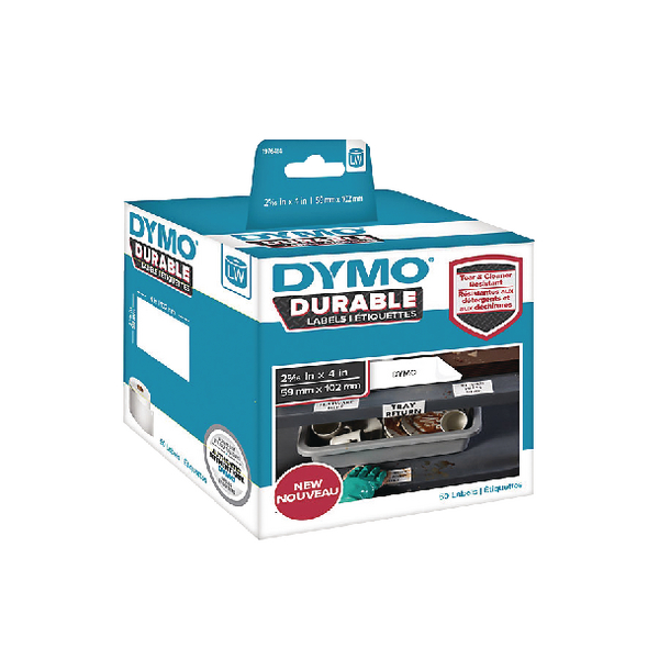 Dymo Durable Labels 59 x 102mm Roll 1976414