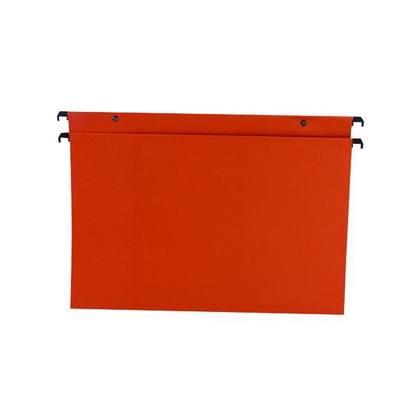 Esselte Orgarex Suspension File 30mm Foolscap Orange (50 Pack) 10403