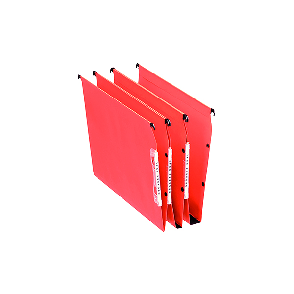Lateral File Esselte Orgarex 50mm Lateral File A4 Orange (25 Pack) 21630