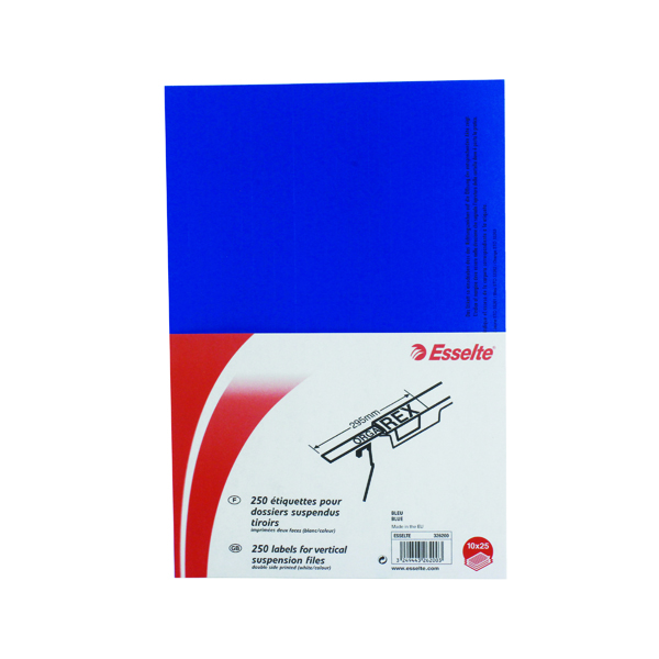 Orgarex Suspension File Insert White (250 Pack) 326200