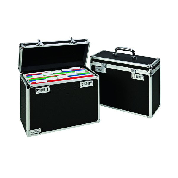 Storage Boxes Leitz Personal Filing Case Black 67170095