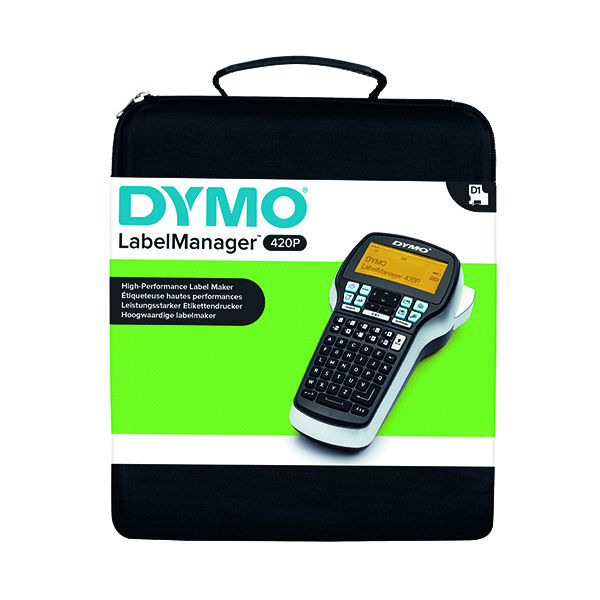 Labelling Machines Dymo LabelManager 420P Kit Case S0915480