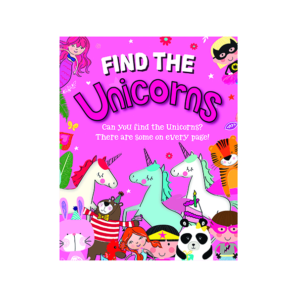Unspecified Find the Unicorns Activity Book (12 Pack) 27075-UNIC