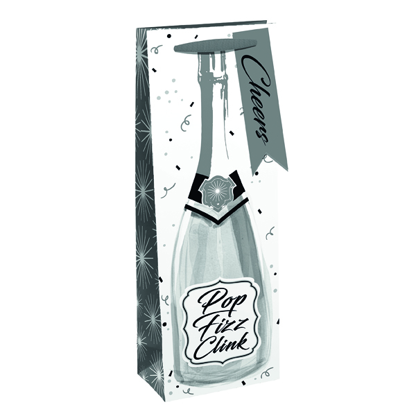 Paper Pop Fizz Bottle Bag (6 Pack) 27003-30