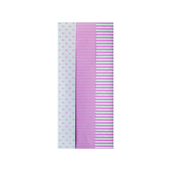 Paper Pink Baby Tissue Paper (12 Pack) 26763-LP