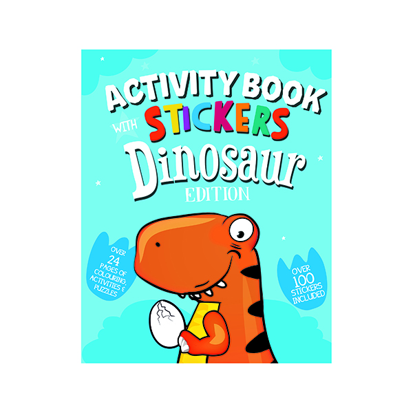 Unspecified Dinosaur Activity Book with Stickers (12 Pack) 26064-DINO