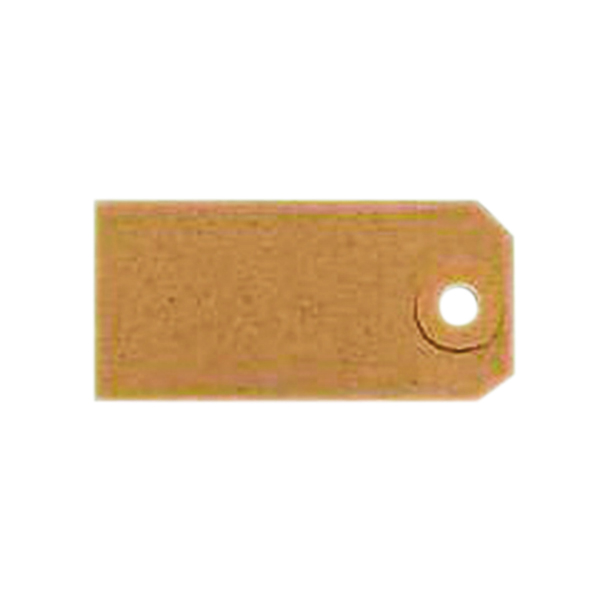 Tags Unstrung Tags 1A 70 x 35mm Buff Single (1000 Pack) TG8021