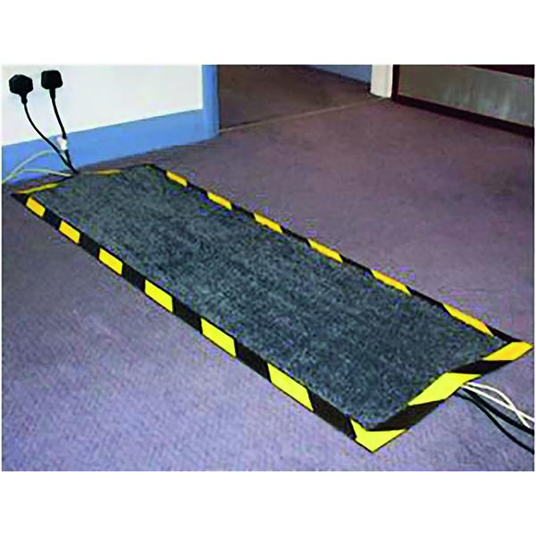 Indoor Floortex Kable Mat 400x1200mm Black FCKAB40120