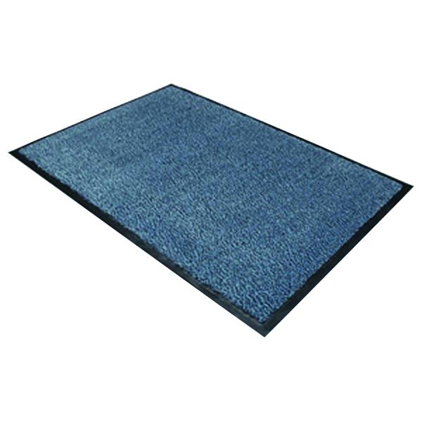 Indoor Doortex Dust Control Mat 600x900mm Blue 46090DCBLV