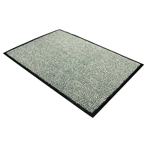 Indoor Doortex Dust Control Door Mat 900x1200mm Black/White 49120DCBWV