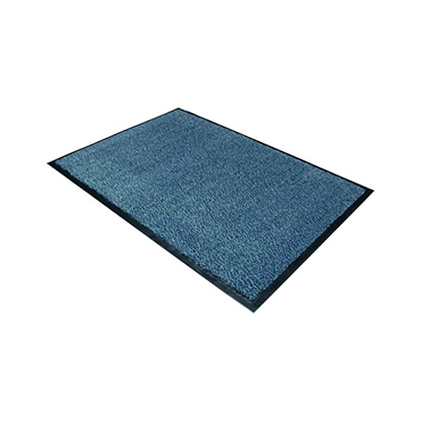 Indoor Doortex Dust Control Door Mat 900x1200mm Blue 49120DCBLV