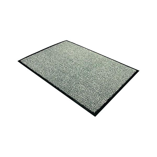 Indoor Doortex Dust Control Door Mat 900x1500mm Black/White 49150DCBWV