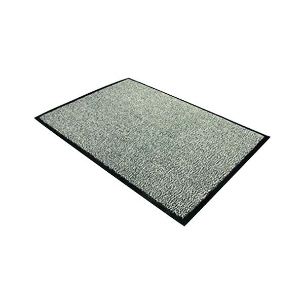 Indoor Doortex Dust Control Mat 1200x1800mm Black/White 49180DCBWV