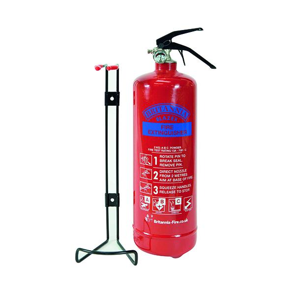 Dry Powder Fire Extinguisher 2 kg ABC Powder ABC2000