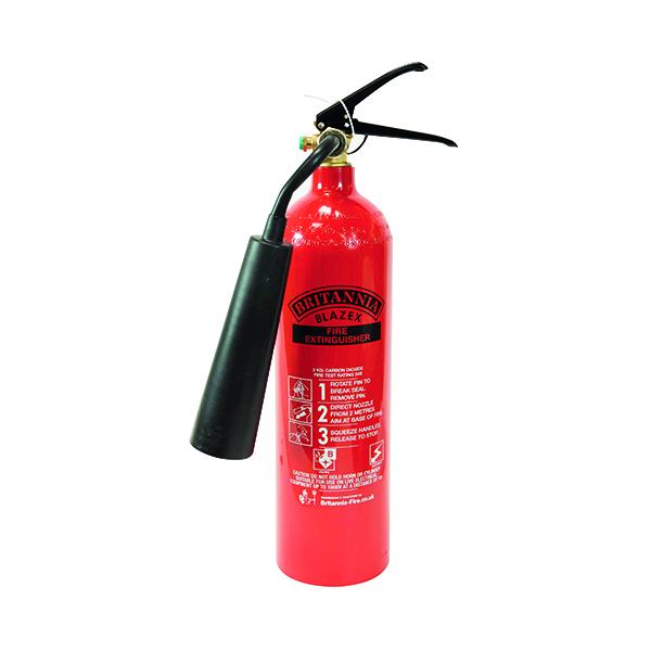 Co2 Fire Extinguisher Carbon Dioxide 2 kg XC2A