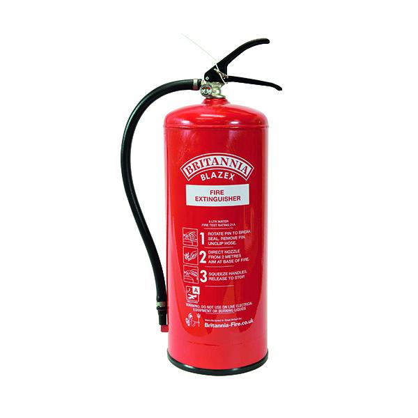 Water Fire Extinguisher Water 9Ls XWS9