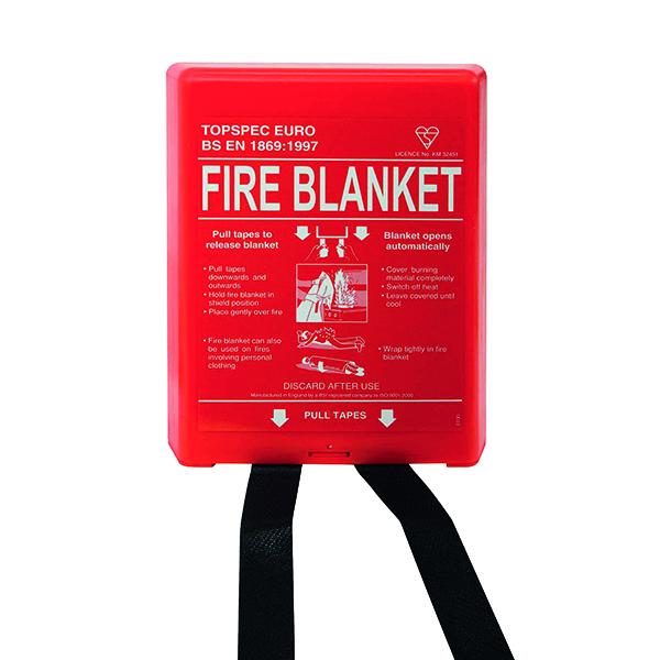 Blanket Fire Blanket Fibreglass 1800x1200mm FB64P