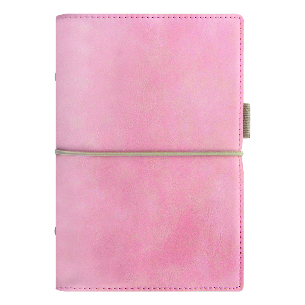 Personal Filofax Domino Soft Personal Organiser Pale Pink 22577