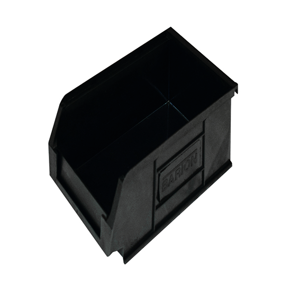 Containers Barton Topstore Container TC2 Recycled (20 Pack) Black 010028