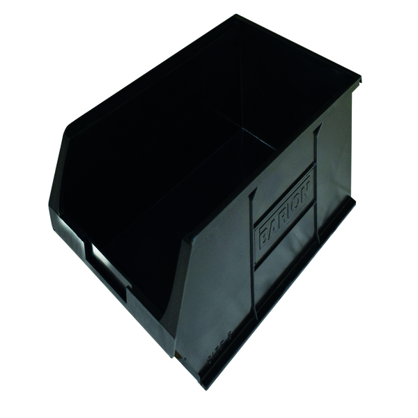 Barton Topstore Container TC5 Recycled (10 Pack) Black 010058