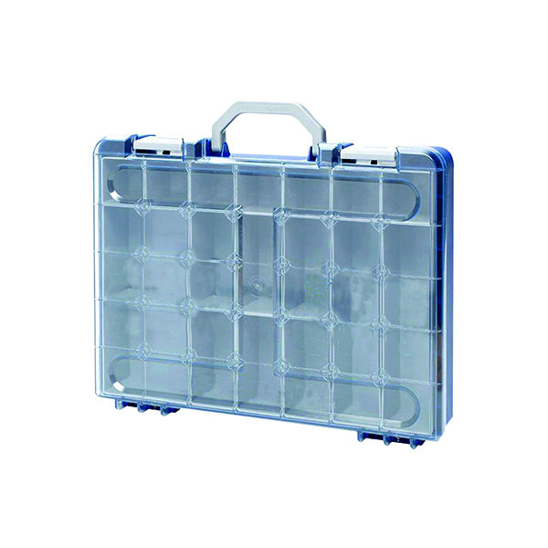 Containers Barton Professional Assortment Case 75x400x310mm Blue PAC6317BL
