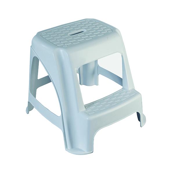Steps/Ladders GPC White Step Stool HE400Z