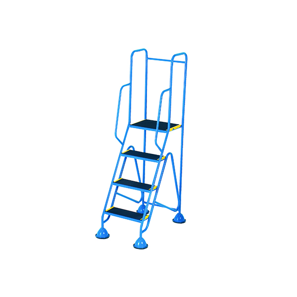 Steps/Ladders Fort Mobile Steps 4 Tread Full Handrail WS514