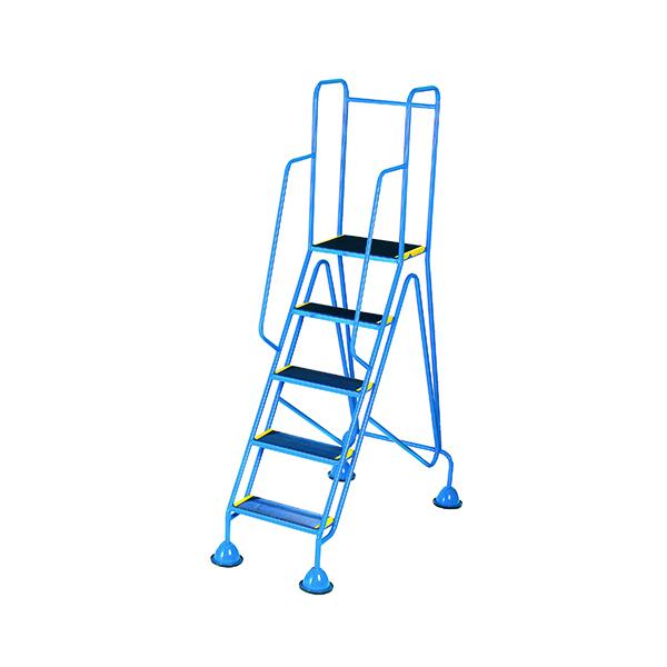 Steps/Ladders Fort Mobile Steps 5 Tread Full Handrail WS515