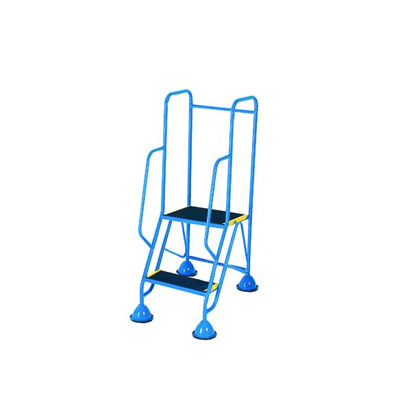 Steps/Ladders Fort Mobile Steps 2 Tread Full Handrail WS512