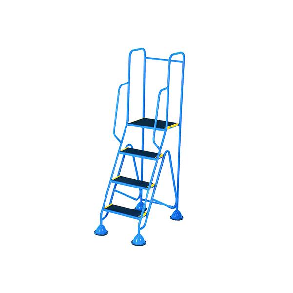 Steps/Ladders Fort Mobile Steps 3 Tread Full Handrail WS513