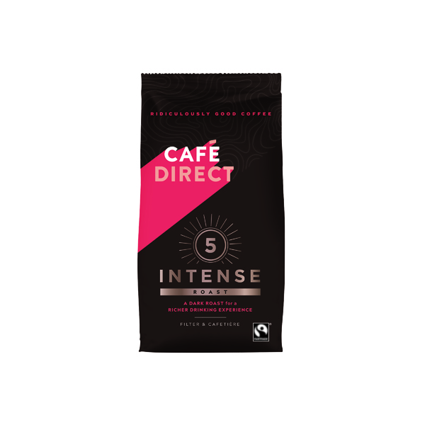 Coffee Cafedirect Intense Roast Ground Coffee 227g FCR0003