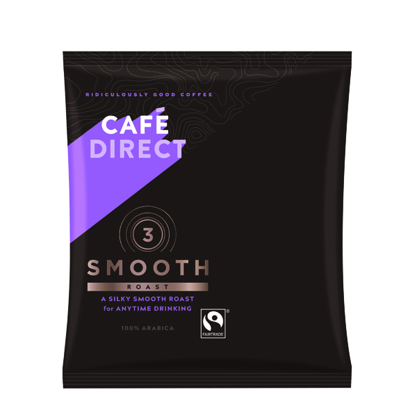 Coffee Cafedirect Smooth Roast Ground Coffee Sachet 60g (45 Pack) TW112015