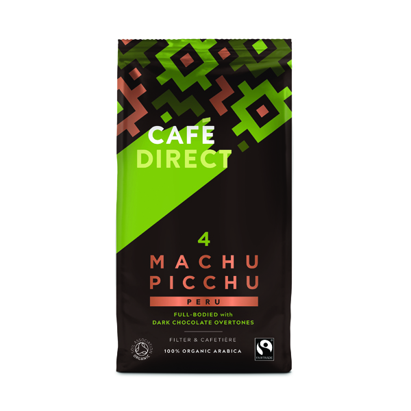 Coffee Cafedirect Organic Ground Machu Picchu Coffee 227g TWI12026