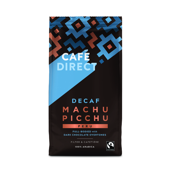 Coffee Cafedirect Fairtrade Organic Roast Ground Decaffeinated Coffee 227g TWI12028