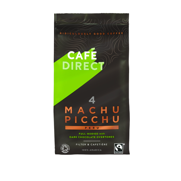 Coffee Cafedirect Machu Picchu Ground Coffee 227g Buy 2 Get FOC Advent Calendar GAL838124