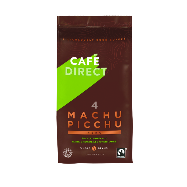 Coffee Cafedirect Machu Picchu Coffee Beans 227g Buy 2 Get FOC Advent Calendar GAL838125