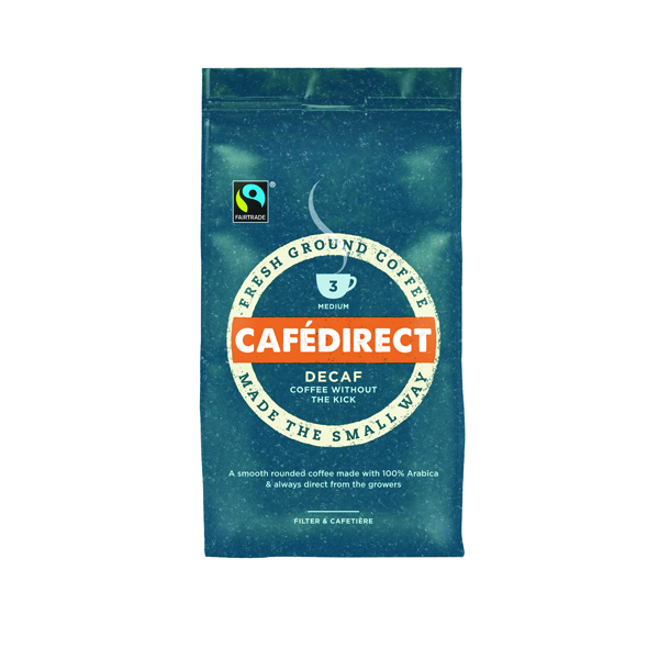Coffee Cafedirect Roast Ground Decaffeinated Coffee 227g Buy 2 Get FOC Advent Calendar GAL838126
