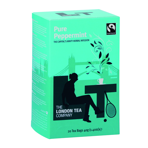 Tea London Tea Peppermint Tea (20 Pack) FLT0002