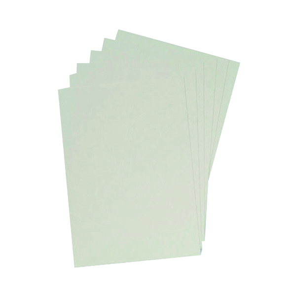 Unspecified GBC LeatherGrain 250gsm A4 White Binding Covers (100 Pack) CE040070