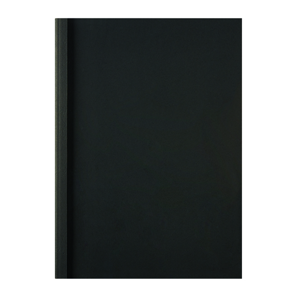 Unspecified GBC LeatherGrain 1.5mm Black Thermal Binding Covers (100 Pack) IB451607