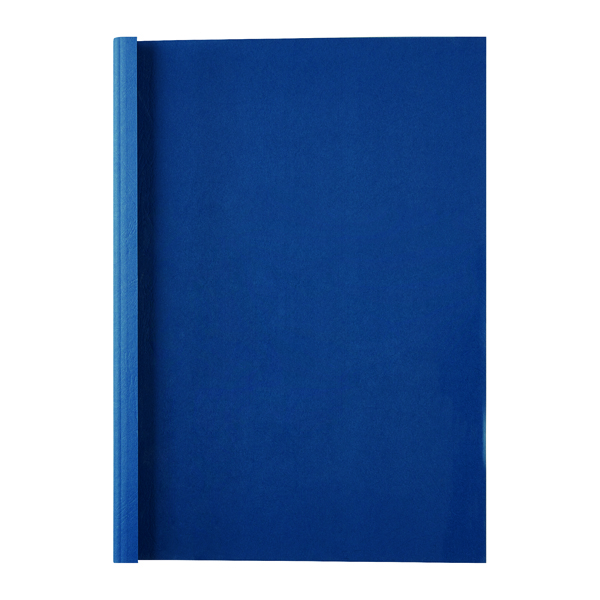 Unspecified GBC LeatherGrain 1.5mm Royal Blue Thermal Binding Covers (100 Pack) IB451003