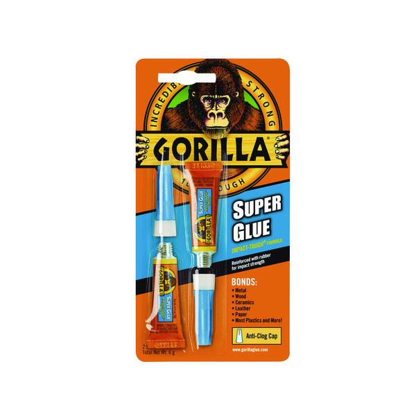 Gorilla Super Glue 3g (2 Pack) 4044101