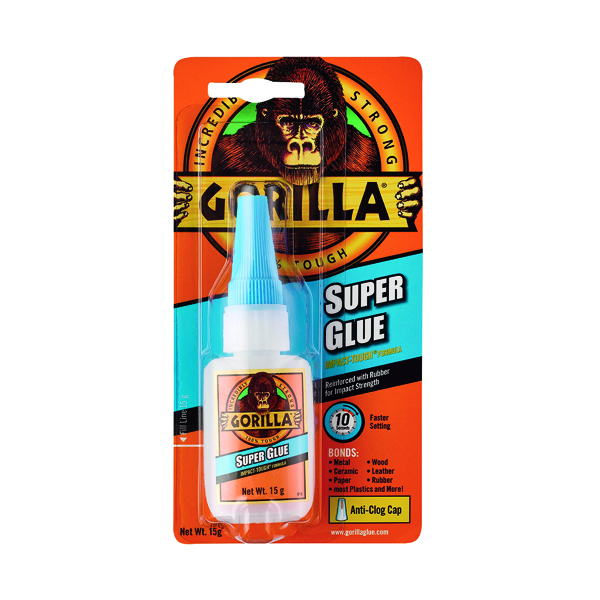 Strong Glues Gorilla Super Glue 15g 4044201