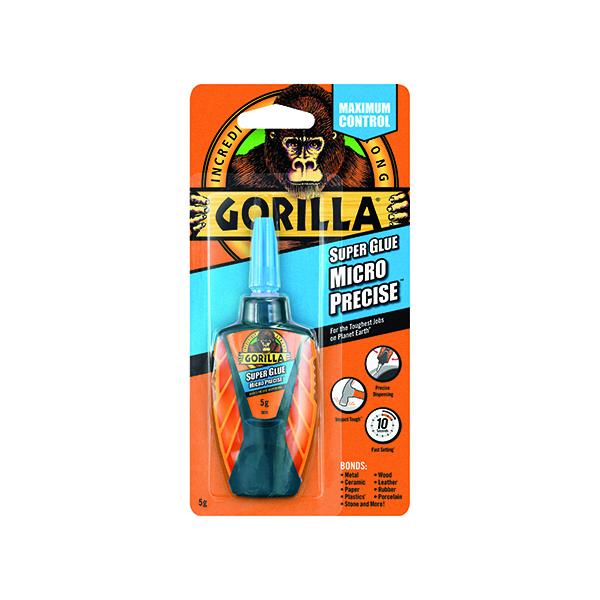 Strong Glues Gorilla Super Glue Micro Precise 5g 4044701