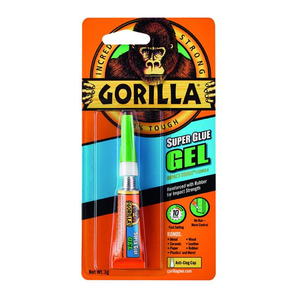 All Purpose Gorilla Super Glue Gel 3g 100745